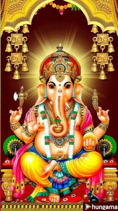 My friends ganesha Ganesha Pictures, Ganesh Images, Lord Krishna Images, Hanuman Images, Lord Murugan Wallpapers, Lord Vishnu Wallpapers, Ganesh Lord, Sri Ganesh, Arte Ganesha