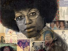 Michelle Caplan Mixed Media Collage Portraiture