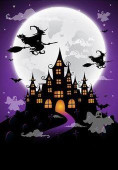 Deco Porte Halloween, Halloween Kunst, Halloween Imagem, Halloween Canvas, Halloween Artwork, Halloween Drawings, Halloween Painting, Halloween Wallpaper, Spooky Halloween Pictures