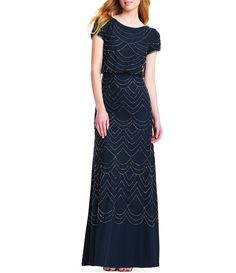 Evening Dresses With Sleeves, Gowns With Sleeves, Evening Gowns, Short Sleeve Dresses, Bridesmaid Dress Styles, Bridesmaids, Size 12 Women, Beaded Gown, Mothers Dresses