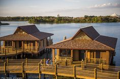 Disney has just opened their first-ever overwater bungalows as part of their luxury Polyne...