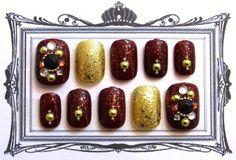 ◆ 商品説明 ◆手作りネイルチップです。 小さな爪の方にぴったりのAサイズです。 クリスマスにぴったりのラグジュアリーチップです。 (ご希望によりAかBのサイ...|ハンドメイド、手作り、手仕事品の通販・販売・購入ならCreema。