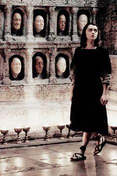 "valiantnedspreciouslittlegirl: ""Arya Stark dans"" The Door """" Got Stark, Sansa Stark, Winter Is Here, Winter Is Coming, Tatuaje Game Of Thrones, Arya Stark Aesthetic, Game Of Thrones Arya, Game Of Trones, Movies"