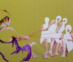 "Saatchi Art Artist Cristina Troufa; Painting, """"Forces"""" #art"
