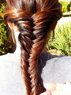 Next skill to master: fishtail braid.