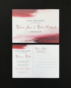 Gorgeous save the date for weddings