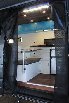 Van conversion company based out of Bellingham that outfits Mercedes Sprinter and Ford Transit Vans into off grid tiny living spaces Camping Items, Van Camping, Ford Transit Conversion, Bus Conversion, Off Grid Solar Power, Campervan Interior, Camper Trailers, Camper Van, Van Living