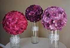 table decor/bouquet ideas