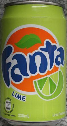 Image result for lime fanta