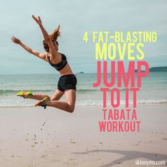4 Fat-Blasting Moves  Jump to It Tabata Workout #tabata #workout #fatloss #fatblaster