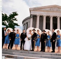 Marne & Grant: A Military Wedding in Arlington, VA