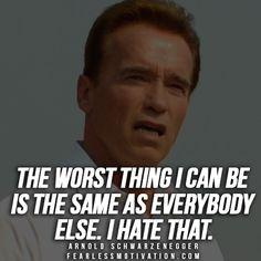 Arnold Schwarzenegger Quotes & Motivational Videos, Articles and Inspiring stories. #ArnoldSchwarzenegger #Arnold #Schwarzenegger | More at www.FearlessMotivation.com