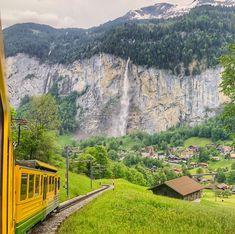 Bern – SWITZERLAND Wengen Switzerland, Swiss Cottage, Train Platform, Half Board, Ski Season, Train Rides, Beautiful Family, Nice View, Happy Friday