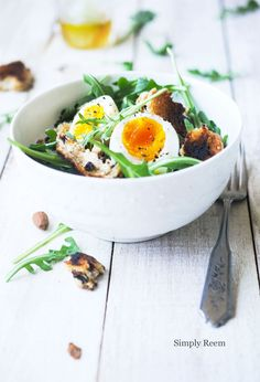 Breakfast Salad!!  Healthy and Delicious way to start your day...