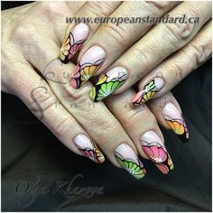 European Standard offers a variety of classes led by Professional Certified Educator of Mosaic Nail Systems, Olga Khazova Gel Paint,Nail Art,One Stroke Painting