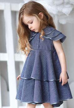 Beautiful Handmade Linen Dress | HipMomMade on Etsy