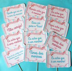 Chá de bebê revelação: dicas para organizar o seu! Partying Hard, Work Hard, Baby Shower, Babys, 1, Scrapbook, Tea Party Dresses, Baby Shower Signs, Organize