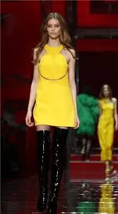 Resultado de imagen de vestidos amarillos