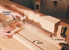 Drawer Slide Tracing Jig - Woodworking Shop - American Woodworker