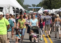 Guide to the summer art fairs in Southeast Michigan for 2015