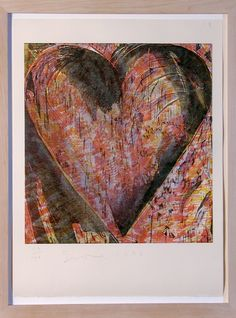 Jim Dine - Untitled (Heart of BAM) for Sale | Artspace |Pinned from PinTo for iPad|