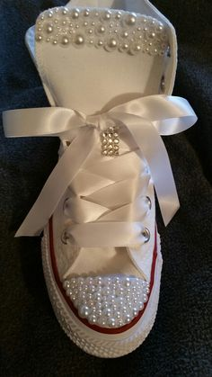 Ladies custom converse sneakers