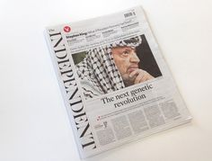 Creative Review - The Independent redesigns