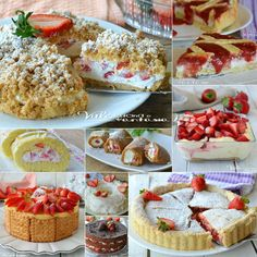 DOLCI CON LE FRAGOLE Ale, Cereal, Breakfast, Desserts, Recipes, Food, Wattpad, Model, Desserts With Strawberries