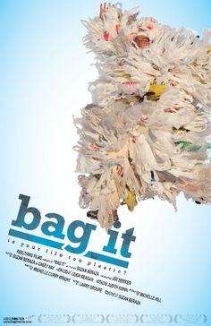 Bag It: Is Your Life Too Plastic? is a 2010 documentary film exposing the effects of plastic bags and other plastic consumer merchandise, and its effects on land ecosystems, the marine environment and the human body. Use Of Plastic, Plastic Bags, Cinema, Best Documentaries, Great Films, Documentary Film, Special Guest, Bago, Have Time