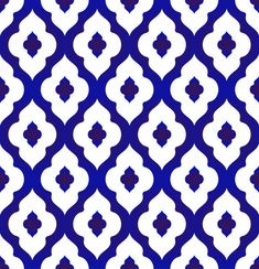 seamless Islamic pattern, blue and white modern shape for design,. Stencil Patterns, Stencil Designs, Pattern Art, Pattern Design, Tile Stencils, Islamic Art Pattern, Arabic Pattern, Thai Pattern, Blue Pottery