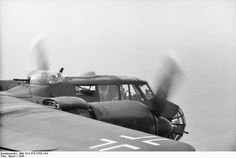 Bundesarchiv, Bild Dornier Do 217 in the air.- Aircraft Dornier Do 217 in the air; KBK Lw 3 Date: Photographer: Speck Propagandakompanien der Wehrmacht - Heer und Luftwaffe - Bild 101 I Bild Source: German Federal Archives Luftwaffe, Panzer Iv, Ww2 Aircraft, Military Aircraft, Adolf Galland, Focke Wulf 190, Ww2 Pictures, Ww2 Planes, Battle Of Britain