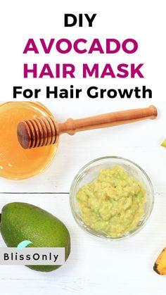 DIY Avocado Hair Mask For Hair Growth