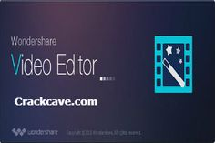 Wondershare video Editor 5.1 Serial key Crack