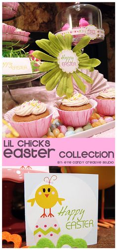 Little Chicks EASTER colleciton @eyecandycreate #easterparty #easter #lilchicks