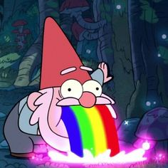 """Which Character From """"Gravity Falls"""" Are You -I got Mabel.was not expecting this😹 Gravity Falls Gnome, Gravity Falls Waddles, Gravity Falls Art, Desenhos Gravity Falls, Rainbow Falls, Cartoon Profile Pictures, Cartoon Icons, Gnomes, Animation"""