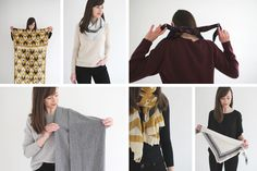 As you might have gathered, scarves are a big part of my styling and accessorizing regimen. That's mainly because they're just the easiest way to add interest t