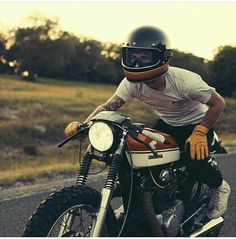 ride motorcycle bike . Motorrad fahren