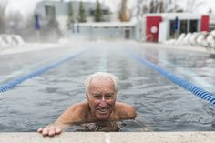 Klaus Obermeyer, founder of Sport Obermeyer ski apparel, practices aikido and swims every day. 'Being old is not an excuse to be lazy,' he says. Nutrition Chart, Nutrition Guide, Fitness Nutrition, Fitness Tips, Healthy Eating Guidelines, Bone Loss, Senior Fitness, Slim Fast