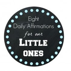 Positive Parenting: Daily Affirmations For Little Ones - for Baby, Toddler Parents practicing Positive Parenting via BabyZone Parenting Toddlers, Parenting Styles, Parenting Hacks, Affirmations For Kids, Keep The Peace, Baby Education, Parent Resources, Yoga For Kids, Toddler Preschool