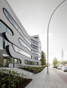 Impressive building renovation Schlump One Hamburg by J. Mayer H.    More Photos: http://freshersmag.com/schlump-one-hamburg-by-j-mayer-h/