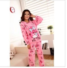 Cute angry birds womens pajamas