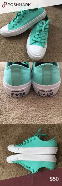 """Converse with Lunarlon NWOT except I did try them on """"mint"""" color make a reasonable offer Converse Shoes Athletic Shoes"""