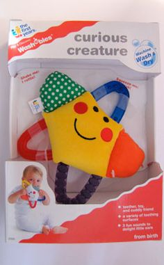 Busy Starfish Teether By The First Years Baby Einstein