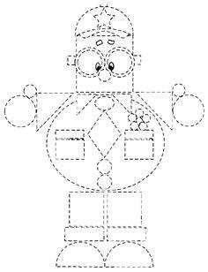 Para formar dibujos con las figuras geométricas (de la web)
