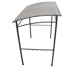 Outsunny 2x1.5 m Garden BBQ Canopy-Beige | aosom.co.uk