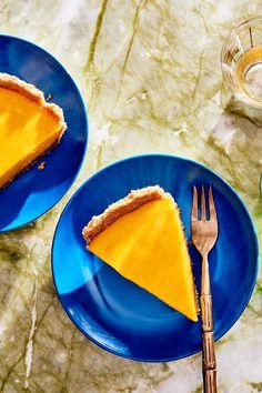 NYT Cooking: Hrishikesh Hirway's Mango Pie Graham Cracker Crust, Graham Crackers, Thanksgiving Traditions, Hosting Thanksgiving, Mango Pie, Brandy Alexander, Pie Recipes, Juicer Recipes, Picnic Recipes
