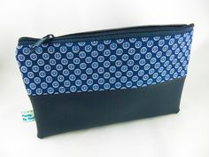 Taschenorganizer - kleines Täschchen mit Veganem Leder - ein Designerstück von prettybyreni bei DaWanda