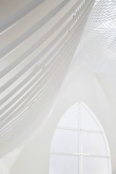 White White White! Slate-clad chapel | Eriko Kasahara