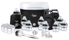 Tommee Tippee Closer to Nature Black Essentials Kit