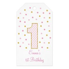 Pink & Gold Glitter Party Favor Tags These adorable Pink & Gold Glitter tags are perfect for personalizing first birthday party favors. You can personalize the front and back of the tags! Matching items available in our store. First Birthday Party Favor, Glitter Birthday Parties, Diy 1st Birthday Invitations, Glitter Party, Gold Glitter, Pink Birthday, Glitter Nikes, Glitter Bomb, Glitter Dress